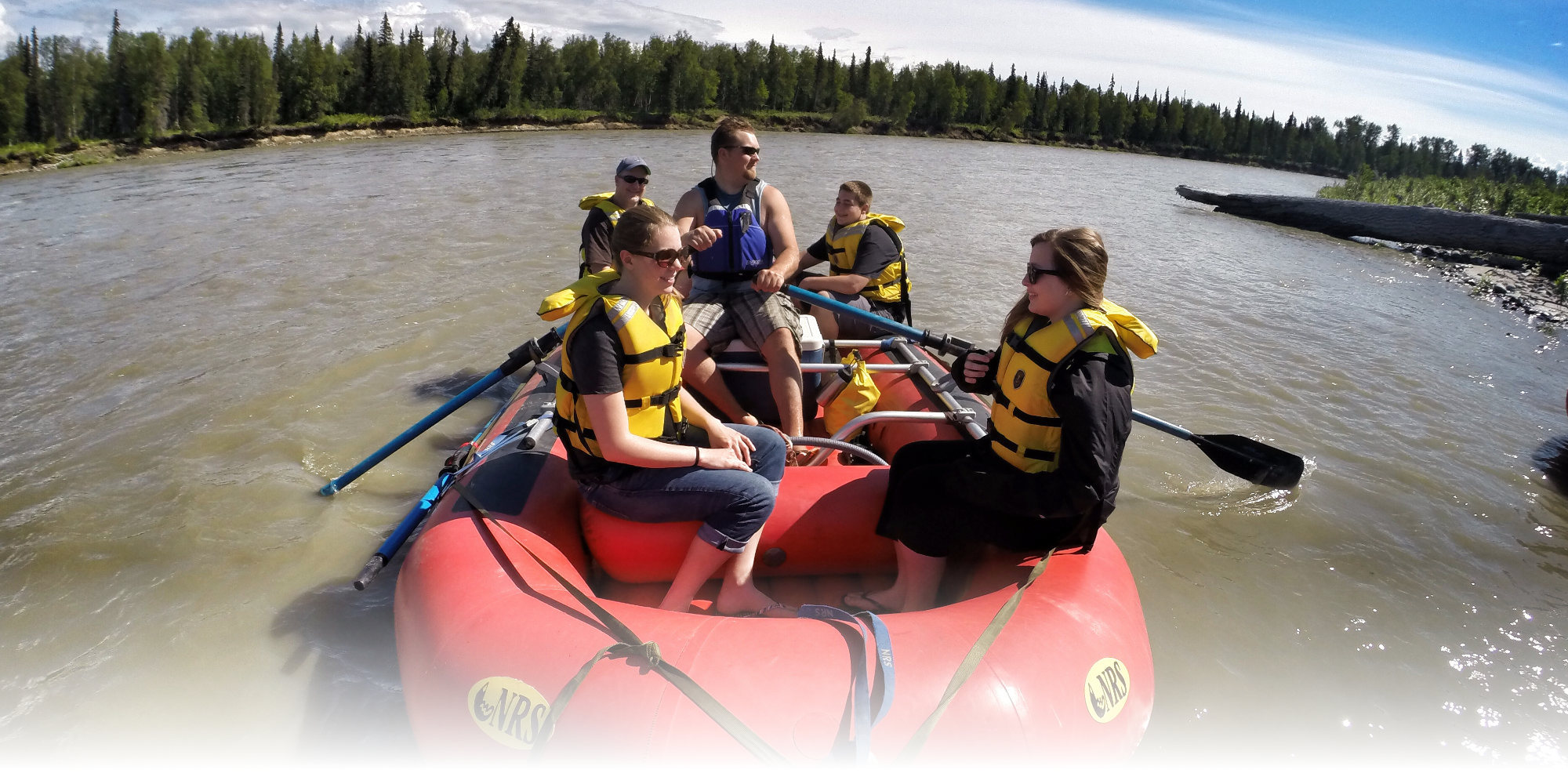 rafting the susitna river