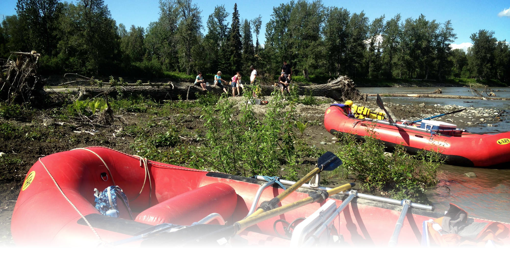 rafting the talkeetna river